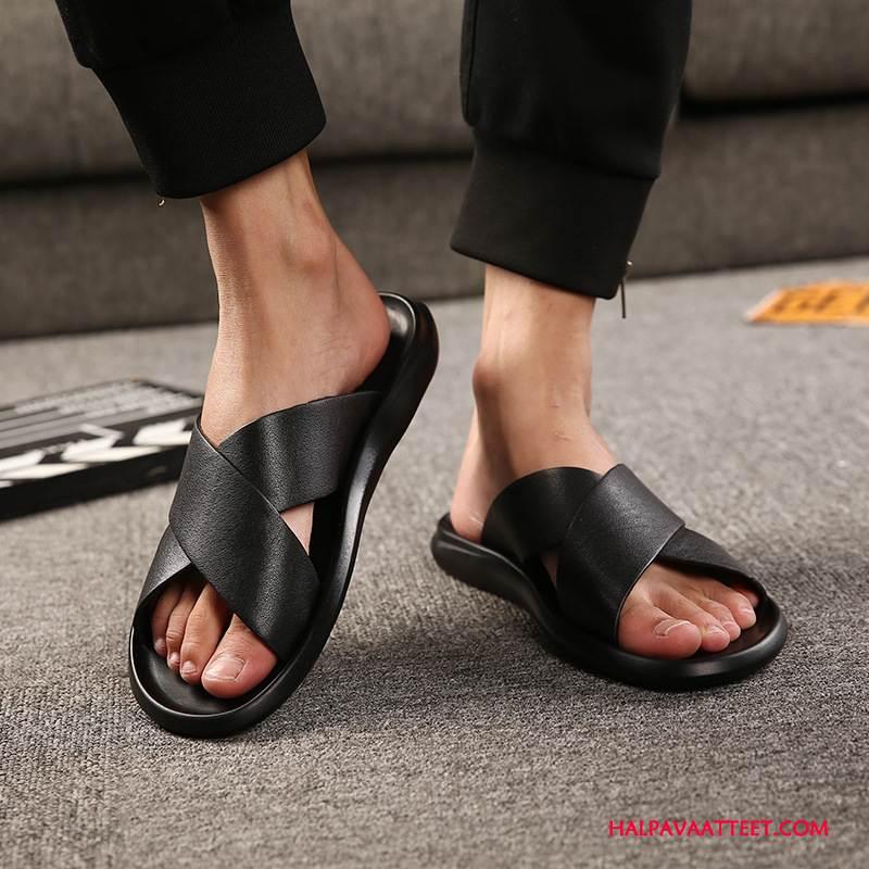 Miesten Tohvelit Halvat Miehille Sandaalit Muoti Tossut Kengät