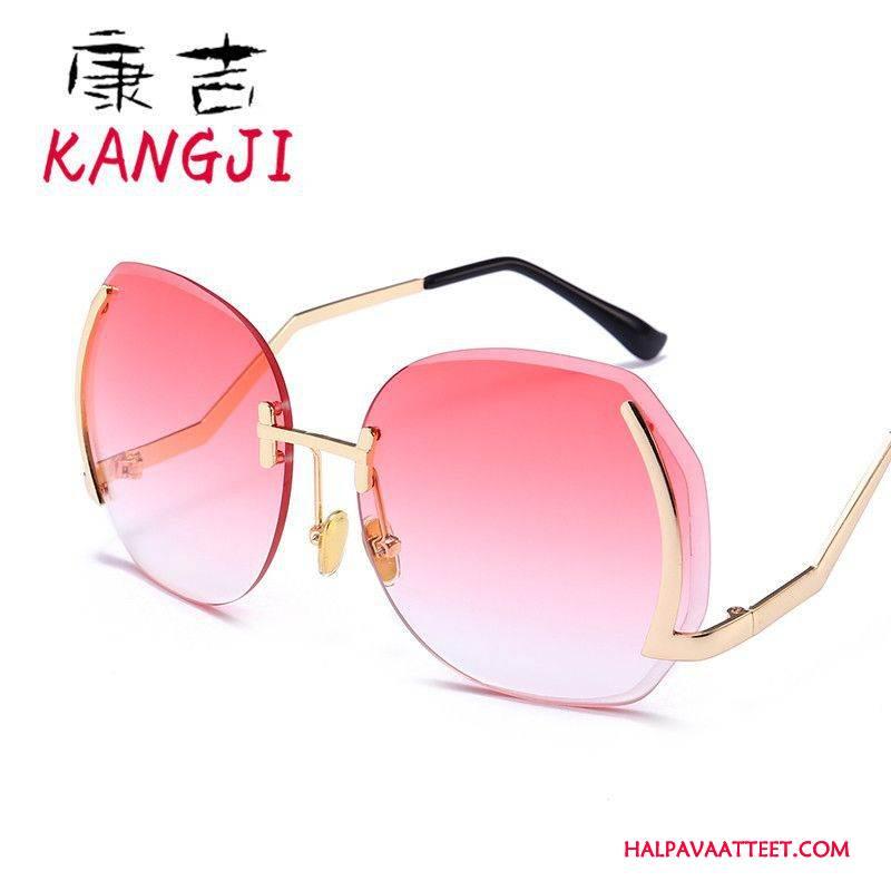 Naisten Aurinkolasit Osta Värillinen Suuri Naisille Suuntaus Pinkki
