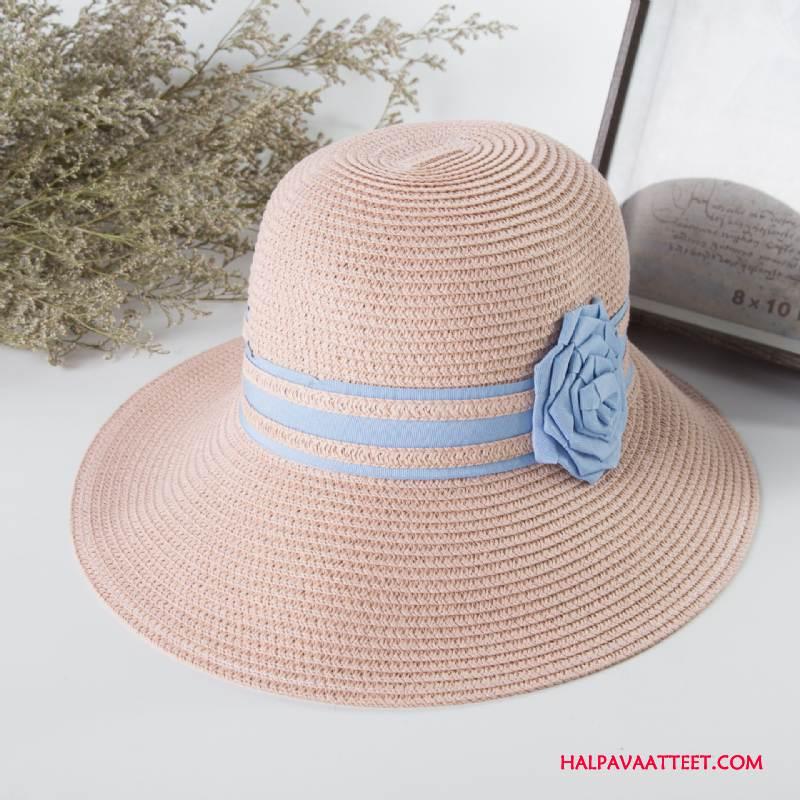 Naisten Hattu Alennus Mutka Uusi Aurinkohattu Kesä Kalastaja Hattu Pinkki