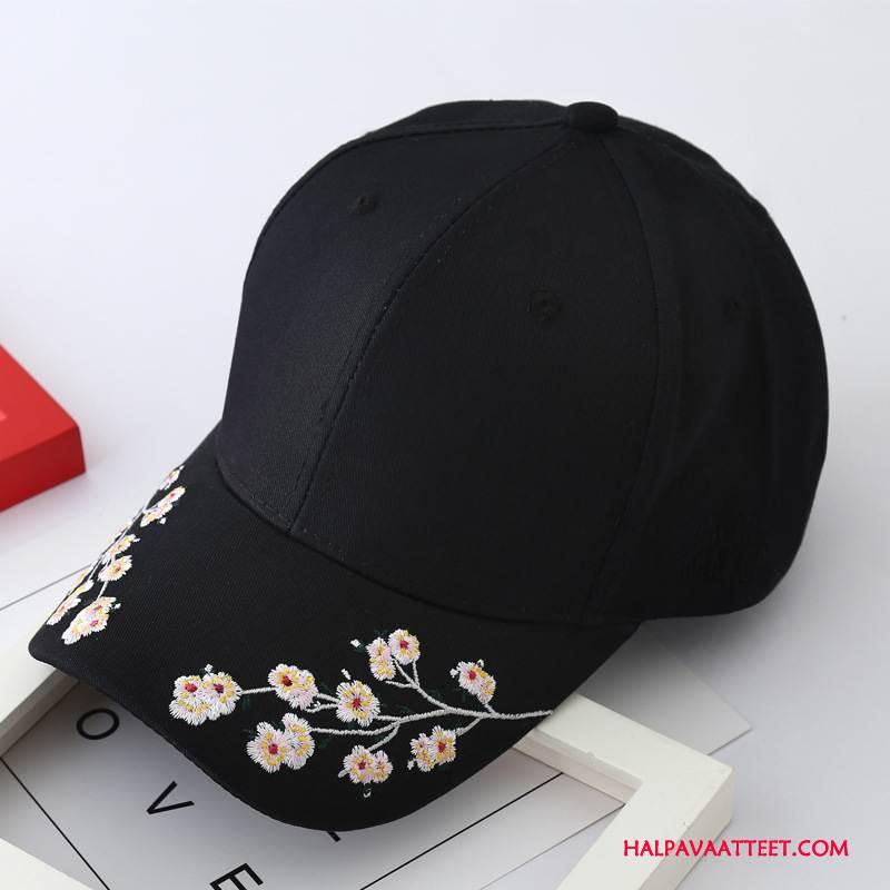 Naisten Hattu Halpa Puuvilla Uusi Kesä Shade Kudos Musta