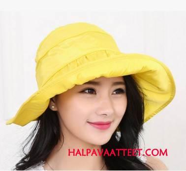 Naisten Hattu Halvat Suuri Mutka Naisille Kesä Aurinkovoiteet Keltainen