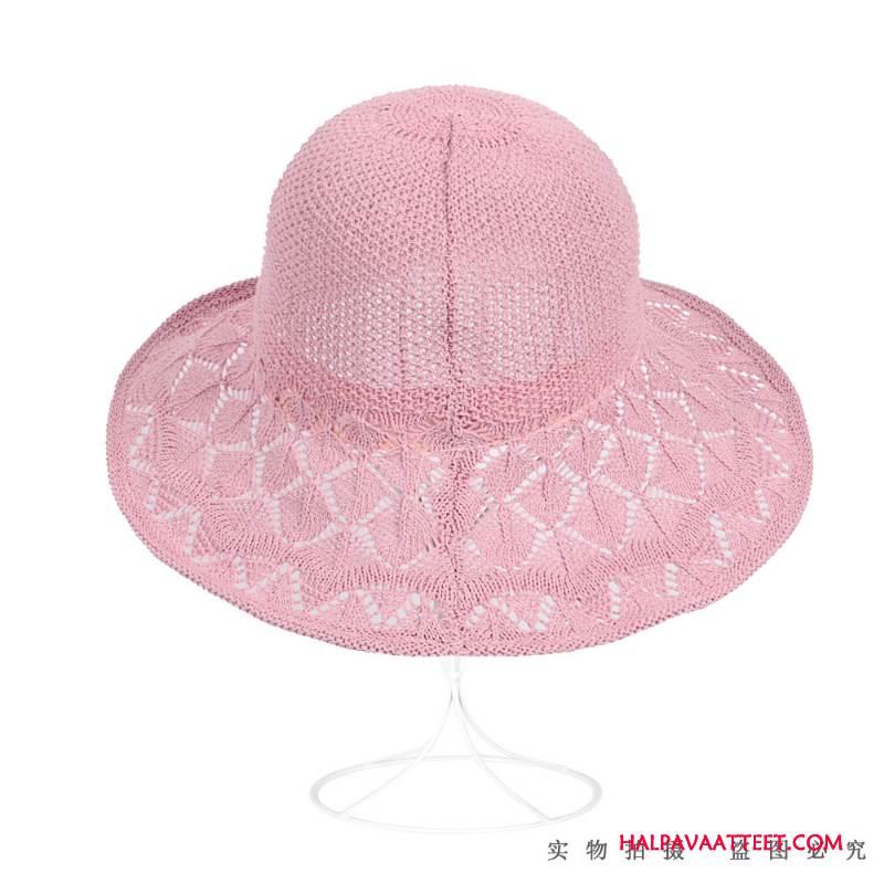 Naisten Hattu Halvat Villit Aurinkovoiteet Kalastaja Hattu Matkustaminen Kesä Pinkki