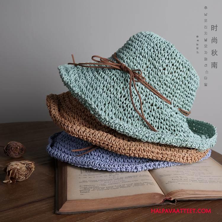 Naisten Hattu Netistä Manuaalinen Uusi Shade Villit Aurinkovoiteet Vihreä