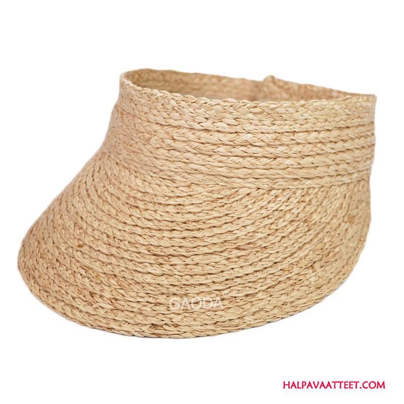 Naisten Hattu Osta Aurinkovoiteet Sport Matkustaminen Naisille Shade Khaki