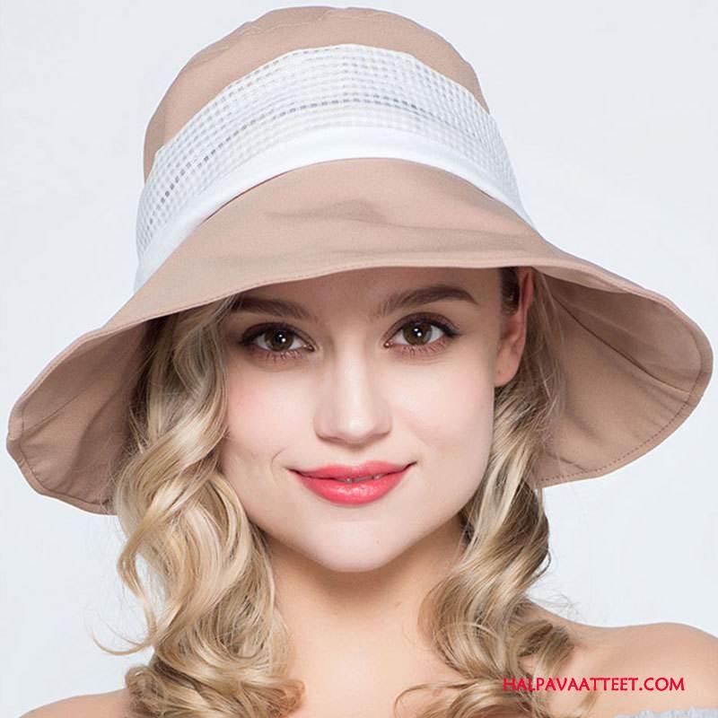Naisten Hattu Osta Hengittävä Aurinkovoiteet Kevät Mutka Kesä Violetti Pinkki