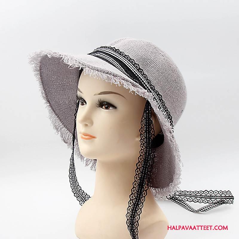 Naisten Hattu Osta Kesä Shade Naisille Ranta Persoonallisuus Harmaa