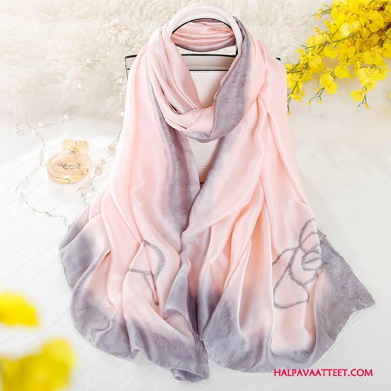 Naisten Huivi Kauppa Kevät Naisille Silkki Uusi Suuri Brändi Pinkki