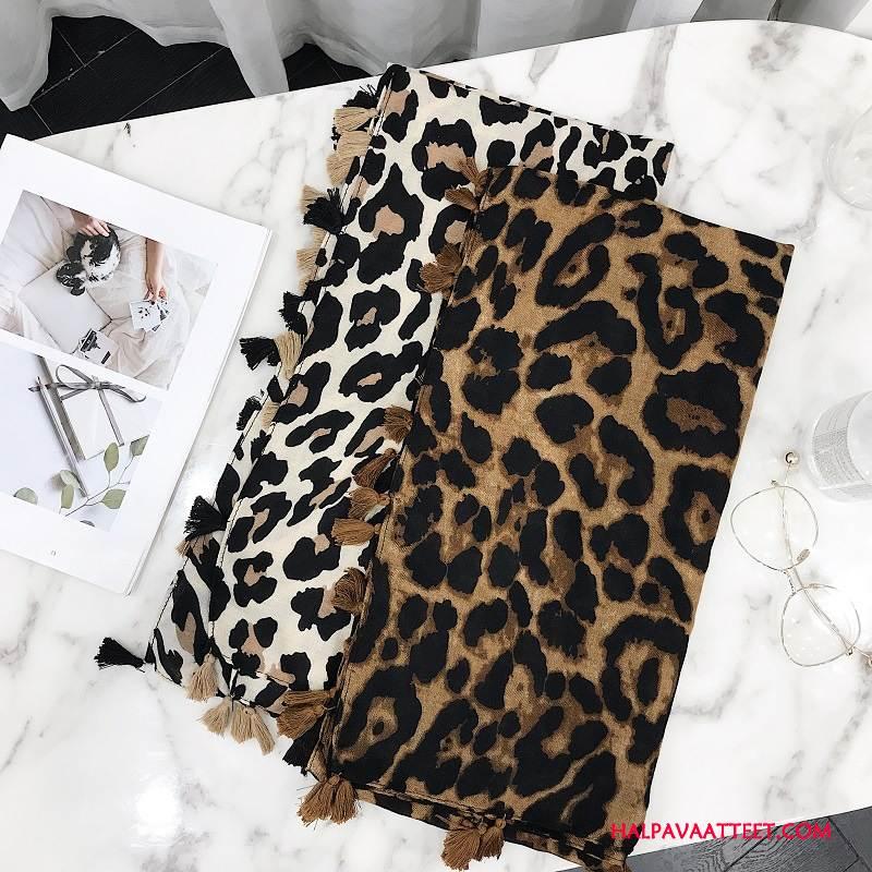 Naisten Huivi Myynti Leopardi Pitkä Osa Suuri Naisille Monitoimilaitteet