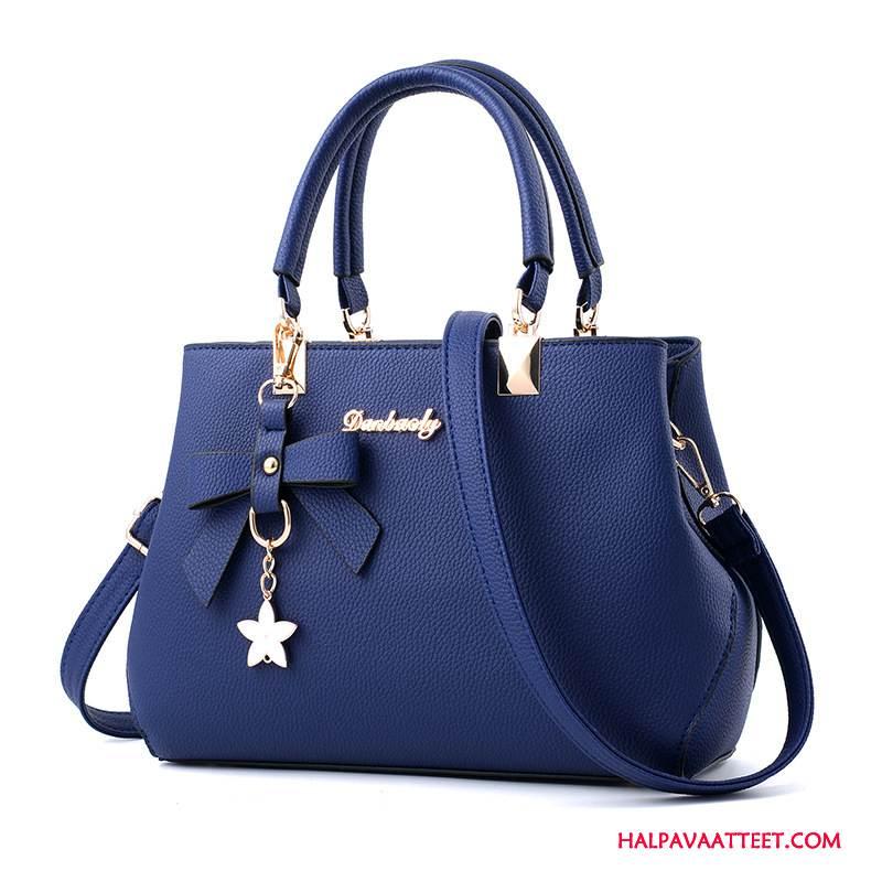 Naisten Käsilaukut Myynti Olkalaukut Naisille Laukku Käsilaukku Uusi Royal Sininen