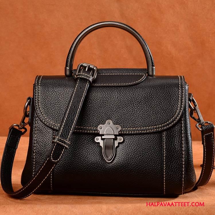 Naisten Käsilaukut Tarjous Laukku Suuri Brändi Tila Naisille Käsilaukku Musta