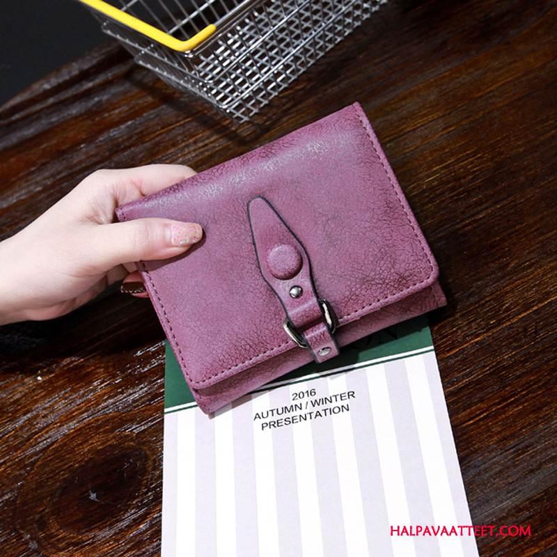Naisten Lompakko Osta Uusi Laukku Naisille Lyhyt Hangata Violetti
