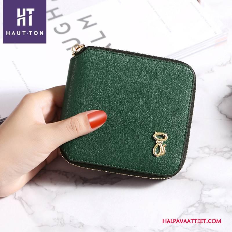 Naisten Lompakko Verkossa Lyhyt Kustannukset Lyhyt Yksinkertainen Mini Uusi Vihreä