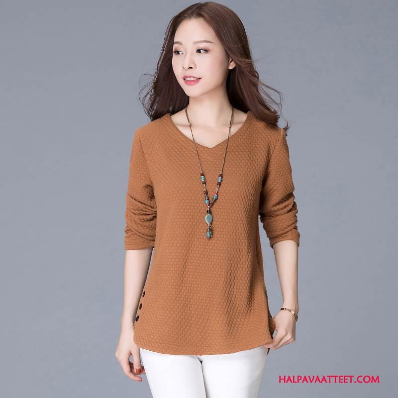 Naisten Plus Size Vaatteet Myynti Yksinkertainen Muoti Nuoret Suosittu Naisille Keltainen