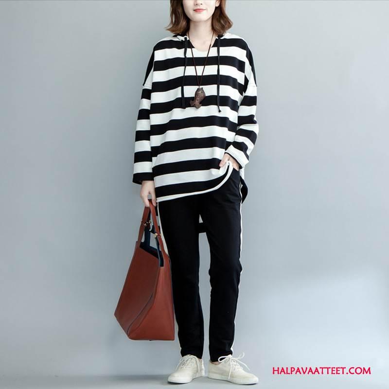 Naisten Plus Size Vaatteet Osta Naisille Casual Kevät Suuntaus Mukavat Valkoinen Musta