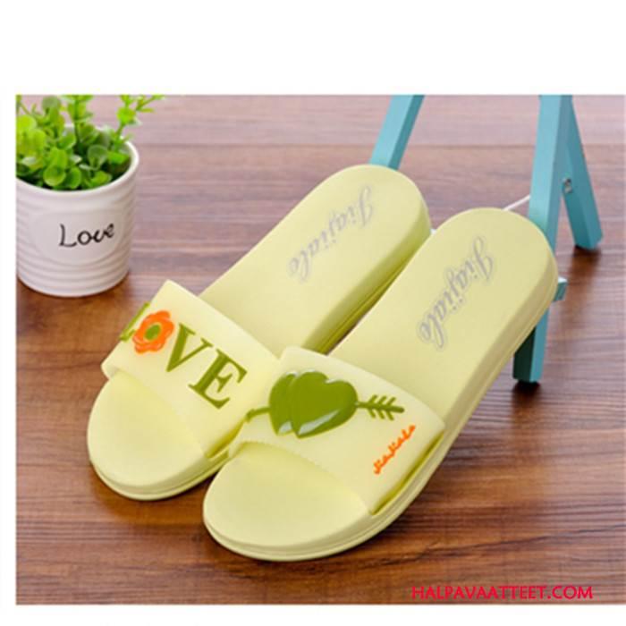 Naisten Tohvelit Osta Kengät Rannalle Tossut Sisällä Kesä Vihreä