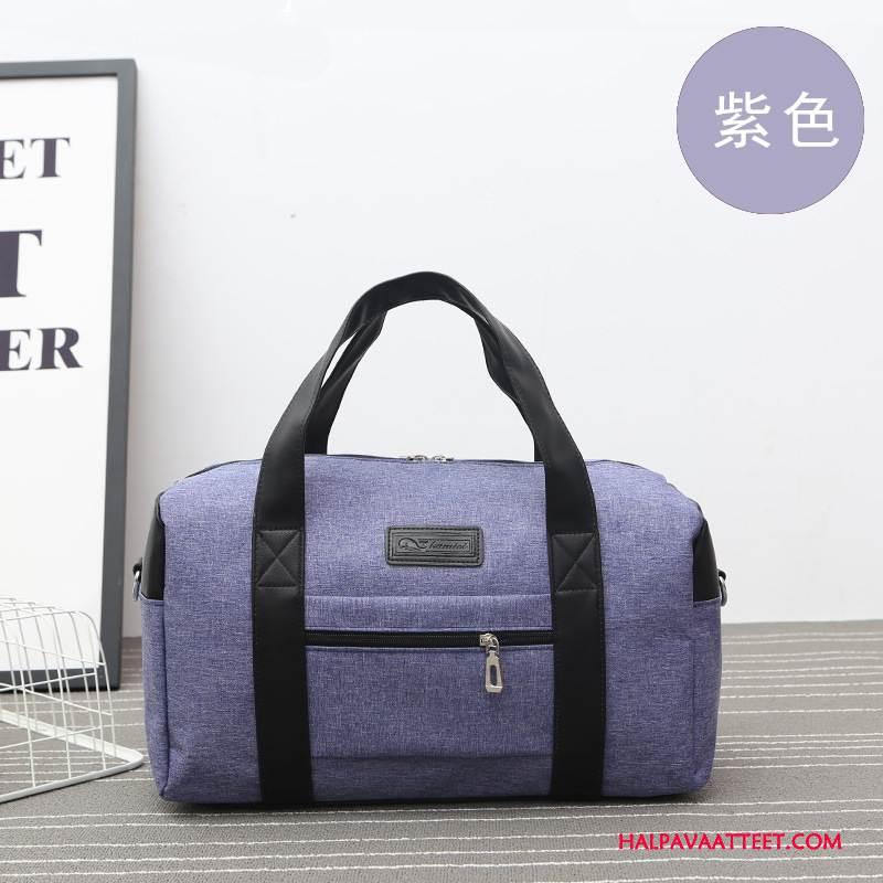 Naisten Vaellusreppu Verkossa Matkustaminen Suuri Kapasiteetti Naisille Laukku Matkatavarat Violetti