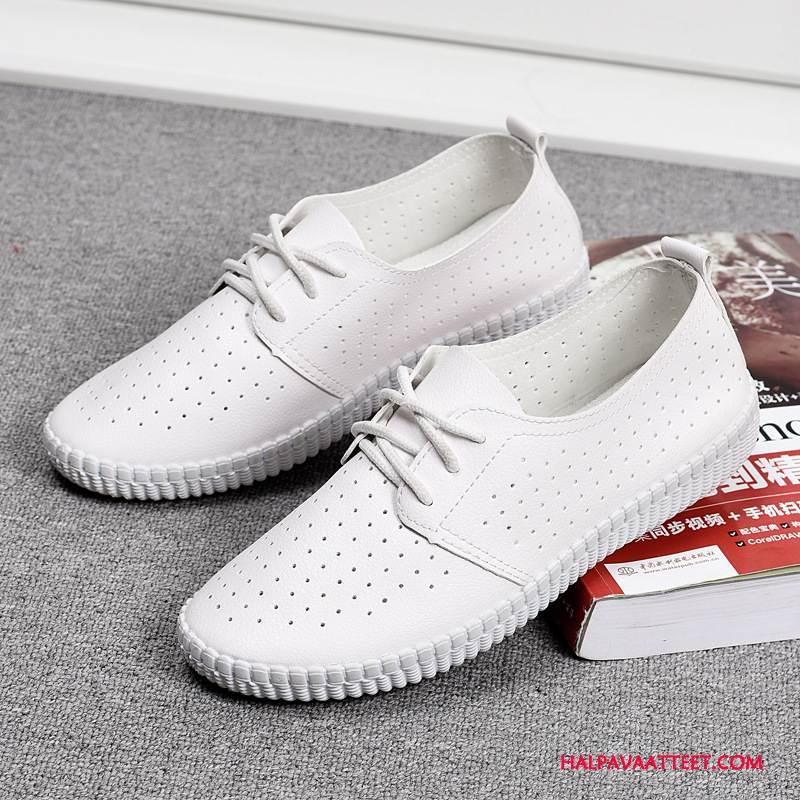 Naisten Vapaa-ajan Kengät Alennus Naiset Nainen Sandaalit Laatu Tasainen Valkoinen