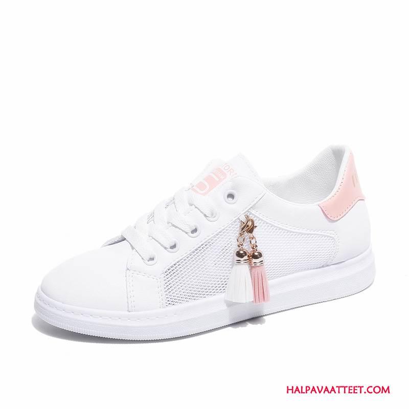 Naisten Vapaa-ajan Kengät Osta Ontto Rento Opiskelija Kevät Naisille Pinkki Valkoinen Punainen